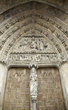 Готская дверь церков Стоковые Изображения
