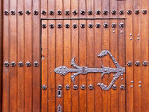 Готская деталь двери церков Стоковое Фото