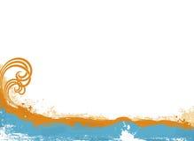 готская цаца океана иллюстрация штока