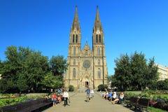 Готская церковь в Прага Стоковые Фото