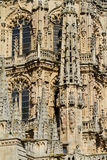Готский купол восточной стороны собора Бургоса. Испания Стоковое Изображение