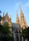 Готский собор, Вена, Австралия Стоковая Фотография
