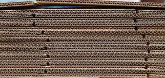 гофрированная бумага Стоковая Фотография
