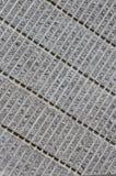 Гофрированная конкретная предпосылка Стоковое Изображение RF