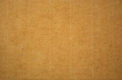 Гофрированная предпосылка листа картона Стоковое Изображение