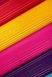 гофрированное цветастое картона предпосылки Стоковая Фотография