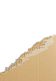 гофрированный картон сорванным стоковое фото rf