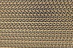 гофрированный картон Стоковая Фотография