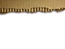гофрированный картон Стоковое Изображение