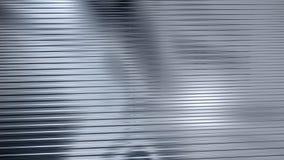 гофрированный лист светлого металла отражая Стоковые Фотографии RF