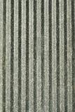гофрированный металл двери Стоковое фото RF