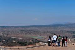 Голанские высоты - Израиль Стоковые Изображения