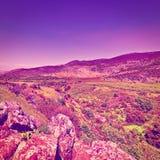 Голанские высоты Стоковое фото RF