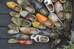голландские ботинки деревянные Стоковая Фотография RF