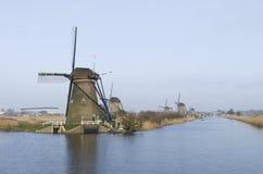 Голландские ветрянки Стоковые Фото
