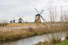 Голландские ветрянки Стоковые Изображения