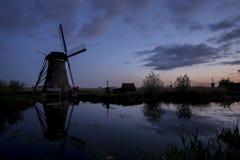 Голландские ветрянки III Стоковая Фотография RF