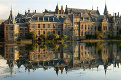 Голландские здания правительства, город Гаага Стоковая Фотография RF