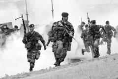 Голландские морские пехотинцы Стоковые Фото