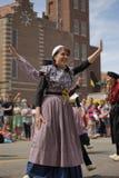 Голландские танцоры в Голландии Мичигане Стоковая Фотография
