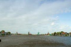 голландские традиционные ветрянки Стоковые Изображения RF