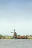 голландские традиционные ветрянки Стоковое Изображение RF