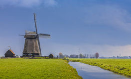 голландский ландшафт стоковое фото