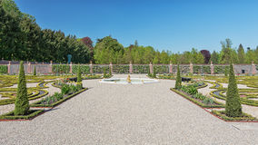 Голландский барочный сад уборной Het дворца Стоковые Фотографии RF