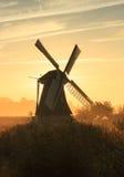 Голландский восход солнца Стоковые Изображения