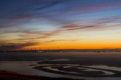 голландский восход солнца Стоковые Фотографии RF