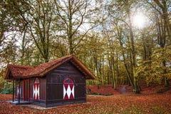 Голландский деревенский дом Стоковая Фотография