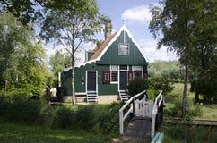 Голландский деревянный дом Стоковые Фотографии RF
