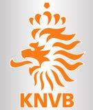 Голландский логотип клуба футбола Стоковые Фотографии RF