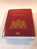 голландский пасспорт Стоковое фото RF