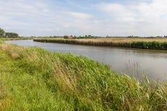 Голландский польдер Стоковое Фото