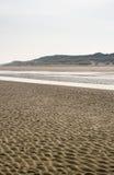 Голландский пляж рано утром стоковое изображение