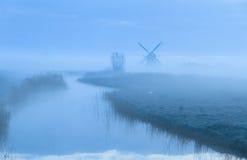 Голландский рассвет. Стоковые Изображения RF
