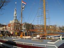голландский флаг стоковая фотография