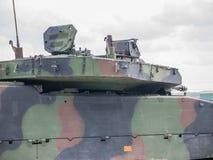 Голландское военное транспортное средство Стоковые Изображения RF
