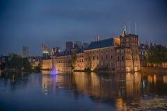 Голландское здание парламента в Гааге Стоковое Изображение