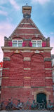 Голландское историческое здание стоковое изображение