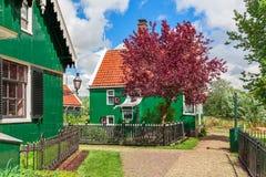 голландское малое село стоковая фотография rf
