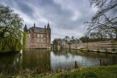 Голландское heeswijk замка стоковые фото