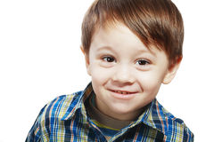 3 года старого мальчика Стоковая Фотография RF