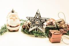 год близких украшений рождества новый поднимающий вверх стоковые фото