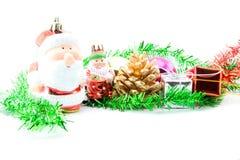 год близких украшений рождества новый поднимающий вверх Стоковые Фотографии RF