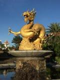 год вектора иллюстрации золота дракона 2012 карточек новый Стоковое Фото