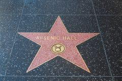 Голливудская звезда Arsenio Hall стоковые фотографии rf