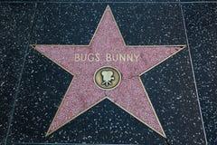 Голливудская звезда Bugs Bunny Стоковое фото RF