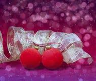 год красного цвета s шарика новый Стоковая Фотография RF